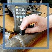 Мы принципиально проводим инструментальный контроль качества сварных швов и окраски